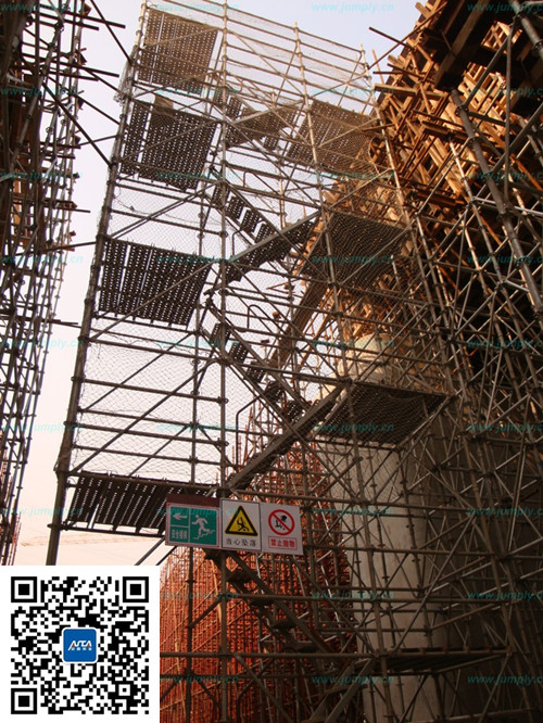 京沪高铁铁施工安全爬梯