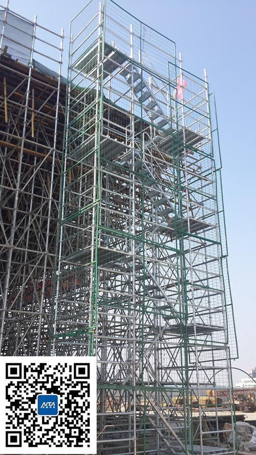 苏州中环快速路施工安全爬梯
